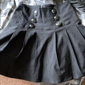 Killstar pleated skirt 🤍🤍